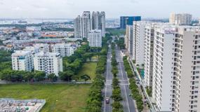 """Giá căn hộ vùng ven TP Hồ Chí Minh tiếp tục tăng """"sốc"""""""