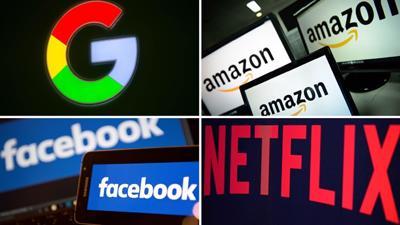 """""""Vòng kim cô"""" quản Google, Facebook, Netflix..."""