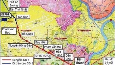 TP.HCM: Tiến độ tuyến Metro số 2 có được đẩy nhanh khi thay đơn vị tư vấn