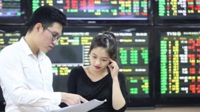 VHM cùng một số cổ phiếu lớn bứt phá, VN-Index vượt đỉnh trong phiên 18/6