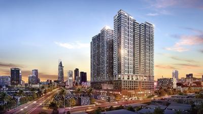 """Thị trường địa ốc TP Hồ Chí Minh """"gây sốc"""" với căn hộ giá 400tr/m2"""