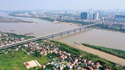 Quy hoạch sông Hồng: Bộ NN-PTNT phản hồi đề xuất Hà Nội