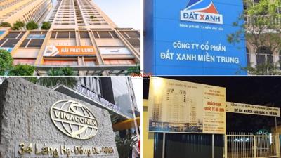 """Hải Phát, Hano–Vid, Nam Cường, Vinaconex…, vừa bị """"nêu tên"""" vì không báo cáo thông tin dự án?"""
