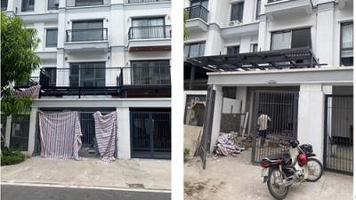 """Hà Nội: Bát nháo biệt thự cơi nới, lắp thêm thang máy sai thiết kế và xử lý kiểu """"bên trọng bên khinh"""""""