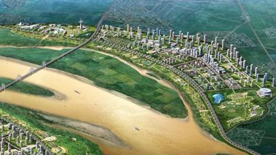Sức hút khó cưỡng của bất động sản bờ Đông sông Hồng
