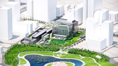 Khu phức hợp Đại sứ quán Mỹ mới 1,2 tỷ USD tại Việt Nam được xây dựng ở đâu?