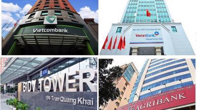 Phát hành giấy tờ có giá tại Big4 ngân hàng: BIDV tăng, Agribank giảm