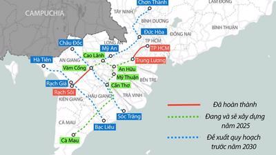 Gần 10.000 tỷ làm tuyến cao tốc nối Tiền Giang – Đồng Tháp