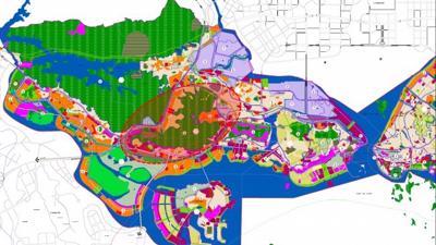 Vingroup đề xuất làm dự án công viên rừng 650ha đối diện 'siêu dự án' 10 tỷ USD tại Quảng Ninh
