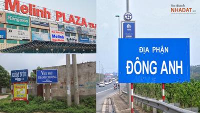 'So găng' giá đất 3 huyện Hà Nội được định hướng lên Thành phố: Đông Anh dẫn đầu, có khu vực lên đến 100 triệu đồng/m2