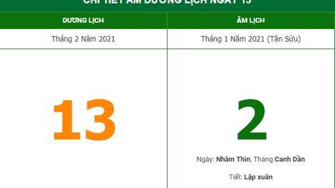 Xem hướng xuất hành mùng 2 Tết Tân Sửu 2021 để đón Hỷ thần (13/2/2021)