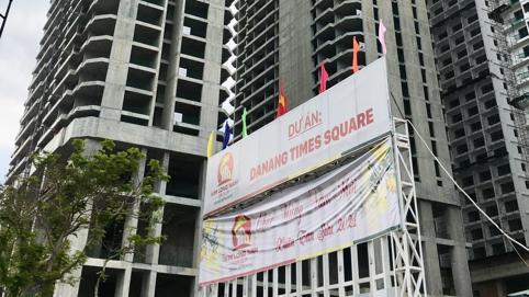 """Trong """"vòng vây"""" nợ nần, Kim Long Nam muốn chuyển condotel sang căn hộ chung cư tại dự án Da Nang Times Square"""