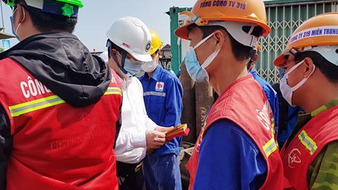 Đà Nẵng: Xử phạt Phó Ban và Ban quản lý các dự án đầu tư của Tổng Công ty 319 do vi phạm phòng chống dịch COVID-19