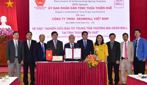AEONMALL Việt Nam đầu tư xây dựng trung tâm thương mại tại Huế