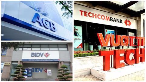 Lợi nhuận 'khủng' nhưng dòng tiền tại BIDV, Techcombank hao hụt hàng chục nghìn tỷ đồng