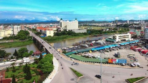 Cấu trúc KKT cửa khẩu Móng Cái sẽ gồm 3 hành lang và 2 vùng phát triển động lực