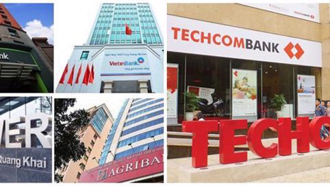 Nhóm 'Big4' ngân hàng biến động bởi Techcombank