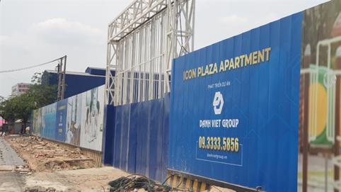 Rủi ro tại dự án Icon Plaza của Danh Việt Group