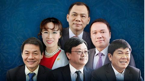 Việt Nam có 6 tỷ phú USD trong danh sách Forbes