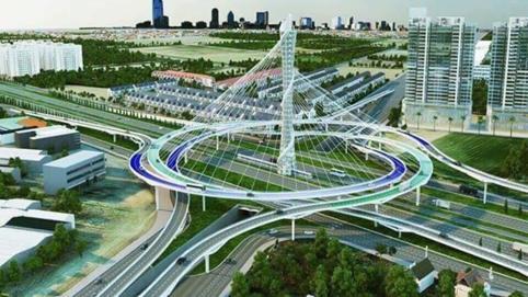 Dự án đường vành đai 4 với 6 làn xe dài gần 100km: Hà Nội kiến nghị cơ chế đặc thù