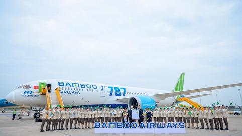 Bamboo Airways dùng cổ phiếu định giá 8.500 đồng để vay ngân hàng