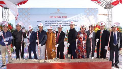 HDTC khởi công Dự án khu công nghiệp Bá Thiện tỉnh Vĩnh Phúc