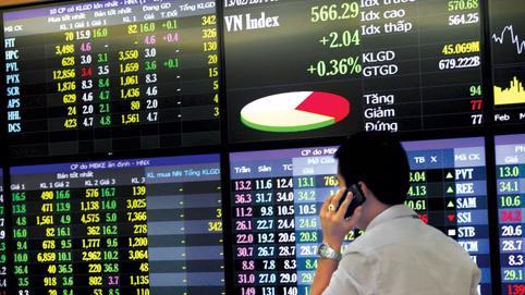 Cổ phiếu bất động sản khu công nghiệp bứt phá trong phiên 26/11