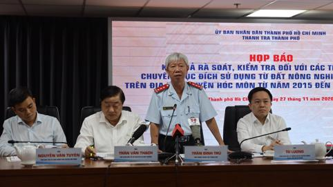 Công an điều tra vụ 1.386 hồ sơ sai phạm đất đai ở Hóc Môn