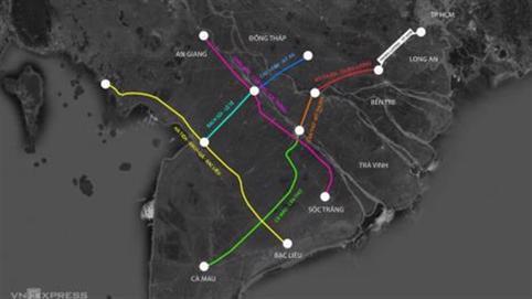Cắc cớ chuyện xây 5 tuyến đường sắt tốc độ cao