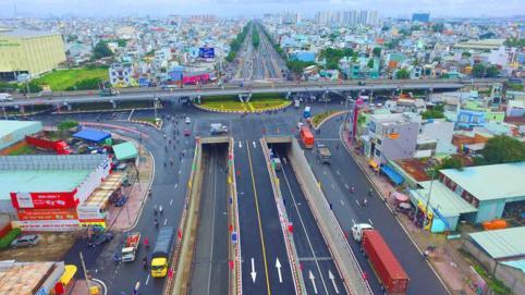 Điểm tên các công trình giao thông trọng điểm của TP Hồ Chí Minh hoàn thành vào năm 2020
