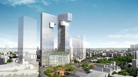 Tái khởi động toà tháp 48 - 55 tầng ở trung tâm TP. HCM