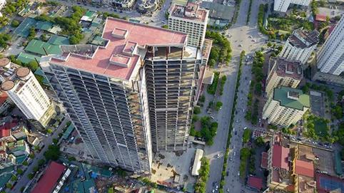 Xây trên đất vàng Hà Nội, trụ sở Vinacomin 'đắp chiếu' suốt 3 năm