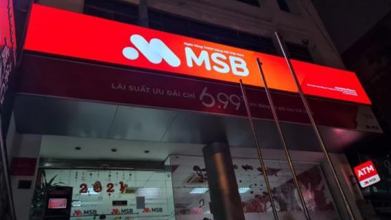 MSB: Dư địa tăng trưởng tín dụng cao nhất ngành, nợ xấu và nợ tiềm ẩn tăng nhanh