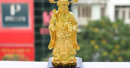 Top những quà tặng mạ vàng mang may mắn, tài lộc ngày vía thần tài