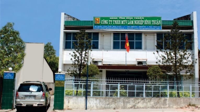 Chi nhánh ngân hàng VDB liên quan đến sai phạm trong quản lý và sử dụng đất tại Bình Thuận