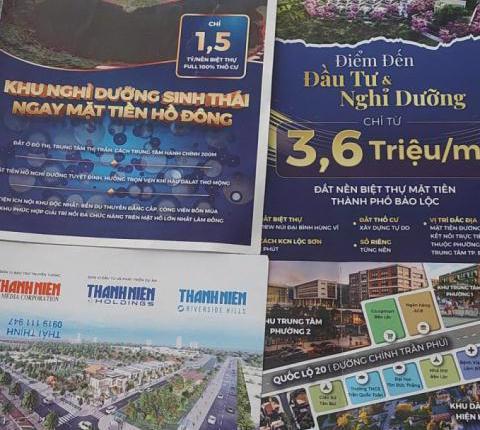 Lâm Đồng kiến nghị chuyển điều tra vụ phân lô bán nền