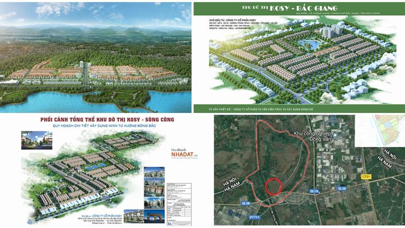 Dự án Khu đô thị Kosy Bắc Giang: sau nhiều lần bán 'lúa non' đã đủ điều kiện huy động vốn?