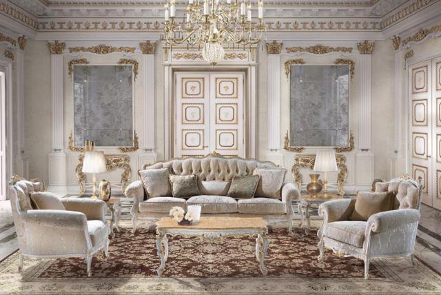 Phong cách Baroque trong thiết kế nội thất - Ảnh 6