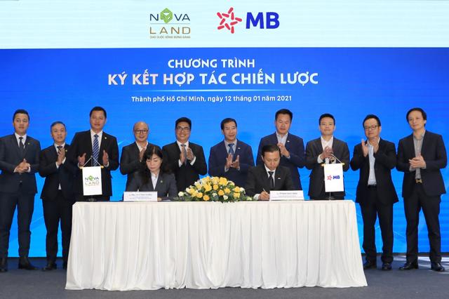Sự kiện ký kết hợp tác chiến lược giữa Novaland và MB sẽ tiền đề cho sự hợp tác toàn diện, lâu dài giữa hai bên trong tương lai.