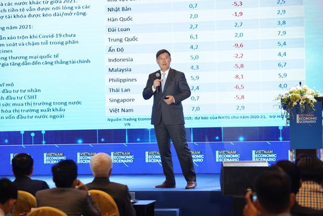 Ông Nguyễn Xuân Thành, chuyên gia kinh tế cấp cao, thành viên Tổ tư vấn kinh tế của Thủ tướng.(Ảnh: VnEconomy)