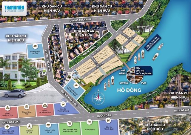 Hình ảnh quảng cáo dự án Thanh Niên Lakeside Marina