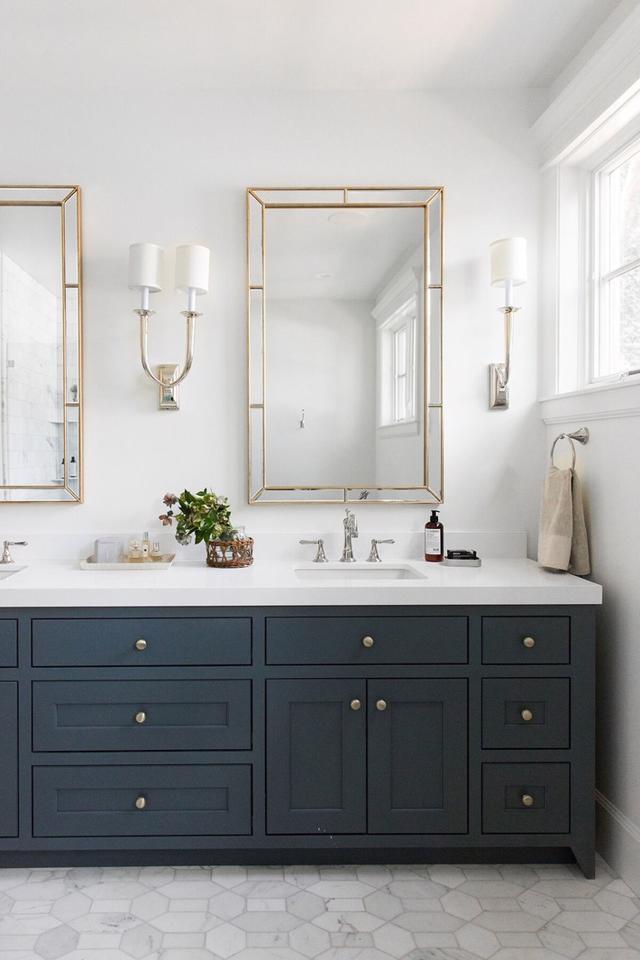 Tạo nguồn cảm hứng mới cho phòng tắm với thiết kế màu xanh - Ảnh 2
