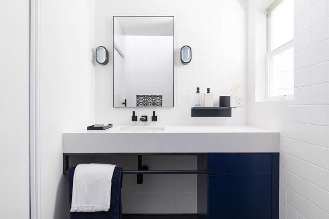 Tạo nguồn cảm hứng mới cho phòng tắm với thiết kế màu xanh - Ảnh 8