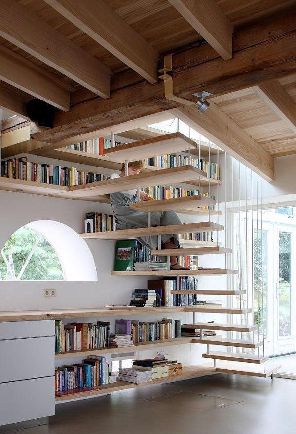 Thiết kế cầu thang đa chức năng - Ảnh 13