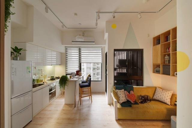 Những điều cần lưu ý khi thiết kế căn hộ nhỏ 45m2 - Ảnh 2