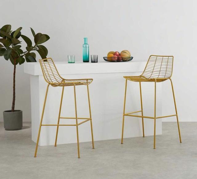 Các mẫu thiết kế ghế quầy bar tinh tế cho ngôi nhà của bạn - Ảnh 12