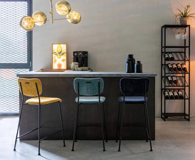Các mẫu thiết kế ghế quầy bar tinh tế cho ngôi nhà của bạn - Ảnh 8