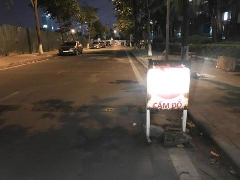 Nhiều ôtô bị xịt sơn khi đỗ trong khu đô thị - Ảnh 2
