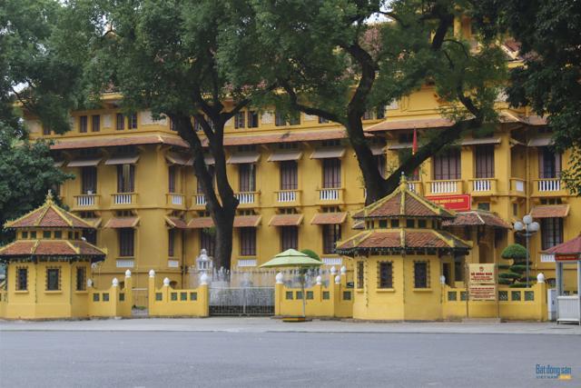 Những công trình kiến trúc Pháp cổ ở Hà Nội - Ảnh 10