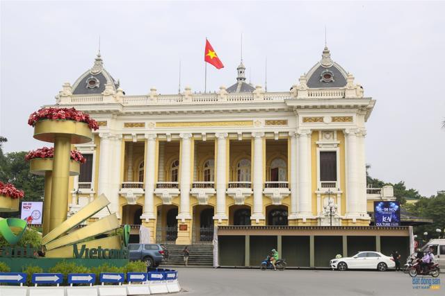 Những công trình kiến trúc Pháp cổ ở Hà Nội - Ảnh 1